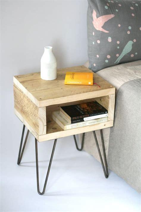 fabriquer une le de chevet 1000 id 233 es sur le th 232 me tables de nuit palettes sur tables de chevet palettes et