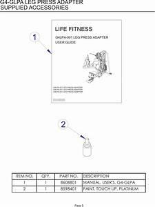 Life Fitness G4 Users Manual Glpa 001