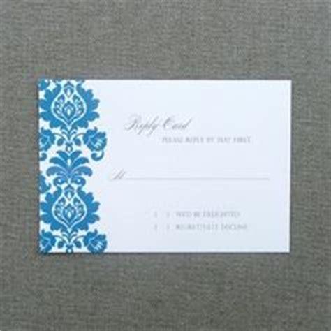 diy wedding rsvp enclosure card templates images