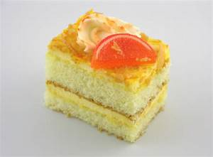 Orange Cake Pastry - Classic Bakery