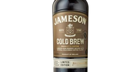 jamesons cold brew irish whiskey  officially coming
