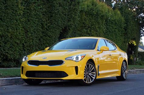 What People Are Saying About The 2018 Kia Stinger (sort Of