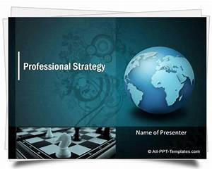 Formal Report Title Page Powerpoint Strategy Template
