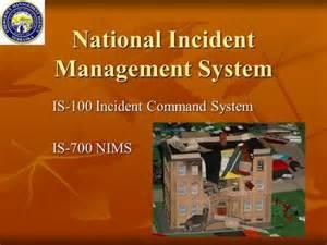 National Incident Management System