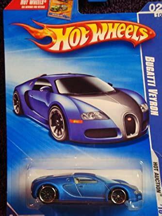 Hot wheels 2020 factory fresh '16 bugatti chiron, black 89/250 $10.99. Amazon.com: Hot Wheels 2010-160 Blue Bugatti Veyron Hot Auction 1:64 Scale: Toys & Games