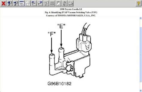 98 Corolla Engine Diagram by 1998 Toyota Corolla Engine Performance Problem 1998