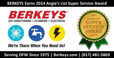 berkeys air conditioning plumbing electrical earns