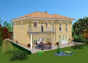 einfamilienhaus im mediterranen stil auf 169 m2 wohnflache With markise balkon mit tapeten stil