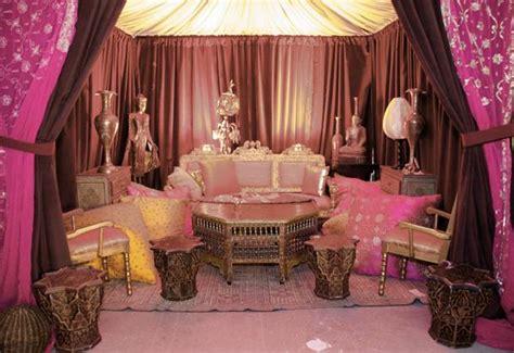 fashion arabian wedding decoration