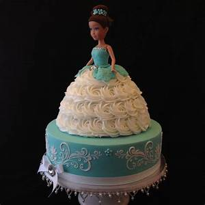 Two Tier Doll Cake - CakeCentral com