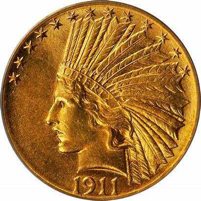 Indian 1911 Gold Value Head Coins Rare