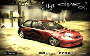 Need For Speed Most Wanted Honda Civic Cx