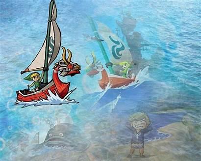 Waker Wind Wallpapers Background Desktop Zelda Cave