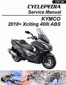 Kymco Xciting 400i    Abs Scooter Service Manual Printed By