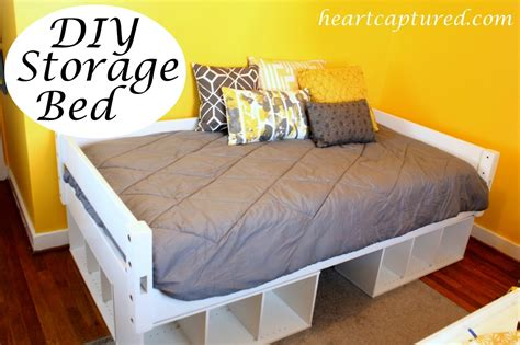 build a bed how to build a size platform bed with storage