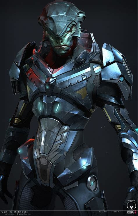 Mass Effect Challenge Nalik Close Camille Delmeule On