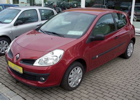 Renault Clio 2007 by 2007 Renault Clio Iii Pictures Information And Specs