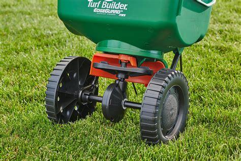 Fertilizer Lawn Spreader Seed Turf Edgeguard Builder Feed