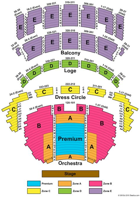 cadillac palace theatre master theater seating charts cadillac palace theatre seating chart cadillac palace