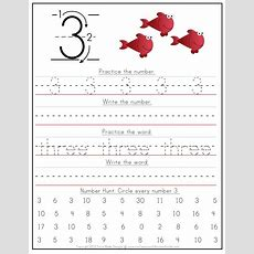 Kindergarten Number Writing Worksheets  Confessions Of A Homeschooler