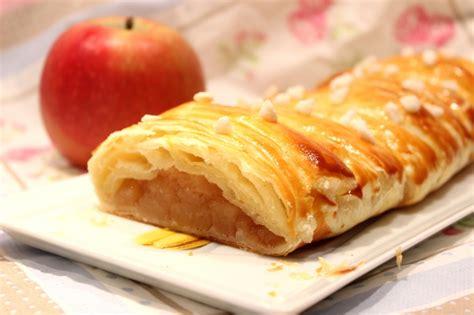 cuisiner au lait de coco tresse feuilletée aux pommes pour ceux qui aiment cuisiner