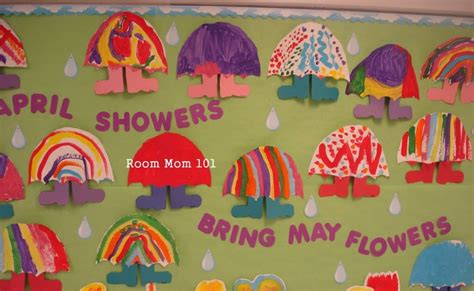 april showers bring may flowers bulletin board ideas teaching miracles april showers bulletin board