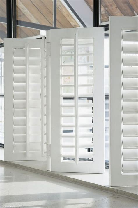 fold shutters prefect  minimal obstruction  view