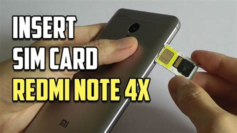 The standard was introduced in august 1999 by joint efforts between sandisk, panasonic (matsushita) and toshiba as an improvement over multimediacards (mmcs), and has become the industry standard. How to insert SIM & SD card in Xiaomi Redmi Note 4X? - YouTube
