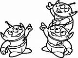 Toy Alien Coloring Story Aliens Colorir Desenhos Drawing Draw Woody Cartoon Kolorowanki Zieloni Kosmici Octonauts Squid Adult Pointing Desenho Books sketch template