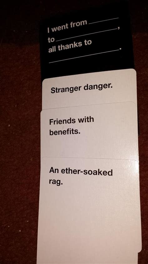 Cards Against Humanity Best Of the best of quot cards against humanity quot 20 pics