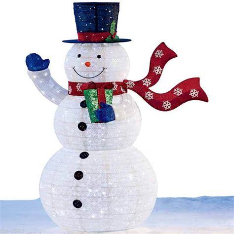 light up snowman indoor large christmas indoor outdoor pop up snowman 6ft 1 8m