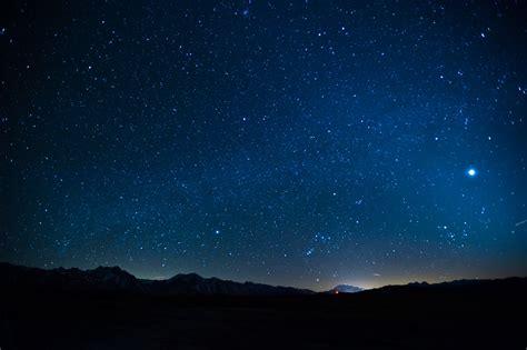 venus   night sky  mammoth