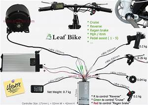 48v 500w Electric Tricycle Conversion Kit