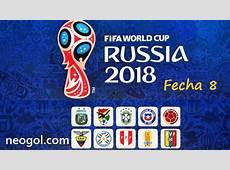 Eliminatorias Rusia 2018 Fecha 8 CONMEBOL Partidos y