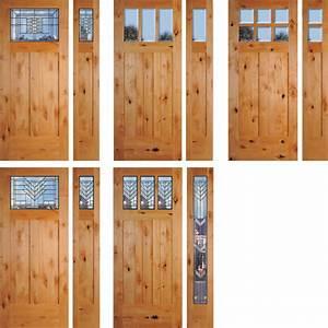 Alder Exterior Doors knotty alder rustic exterior doors