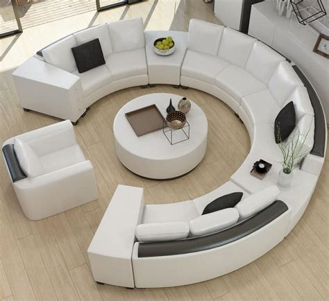 top grain leather sofa custom creative fashion