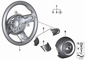 2013 Mini Cooper Convertible Airbag Module  Dr  Side Sport Str  Wheel