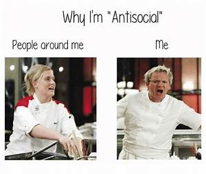 25+ Best Memes About Antisocial People | Antisocial People ...