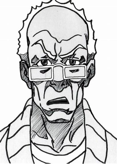 Robert Freeman Boondocks Draw Clip Gangsta Drawings