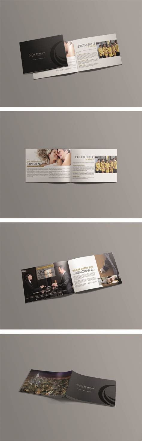 The Resort Minimal Tri Fold 8 5 X 11 Design Best 10 Brochure Size Ideas On Booklet Design