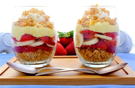 balance de cuisine strawberry banana parfaits the complete savorist