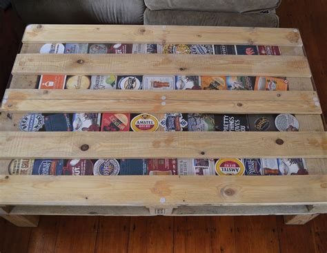 beer coaster coffee table  behance