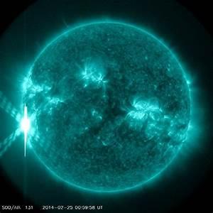 Biggest Solar Flares of 2014: Sun Storm Photos