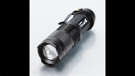 Mini Cree Led Q5 Ultrafire Flashlight Torch Adjustable