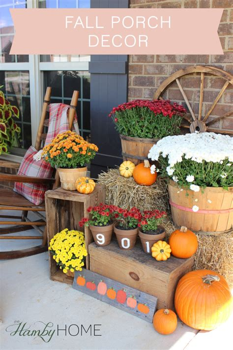 Decorating Ideas For Fall 2015 by Fall Porch Decor The Hamby Home