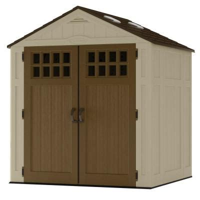 6 X 5 Plastic Shed by Suncast Everett 6 Ft 8 In X 5 Ft 6 In Resin Storage