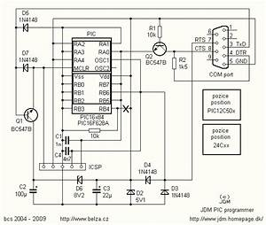 Pic Programmer Schematic Rs232 Under Microcontroller Programmer Circuits