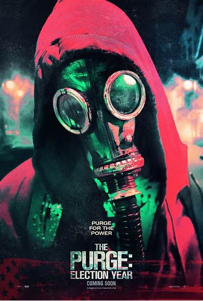 Purge Poster Election Film Movies Teaser Trailer