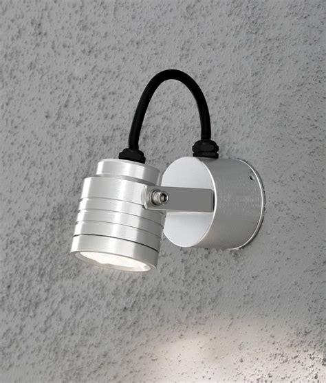adjustable led exterior wall light