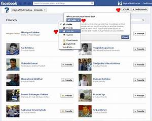 How to Hide Friends List on Facebook from prying eyes ...